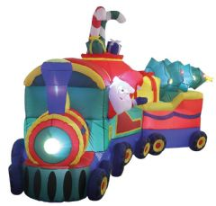 PREMIER LV184784  3.6M Lit Inflatable Train